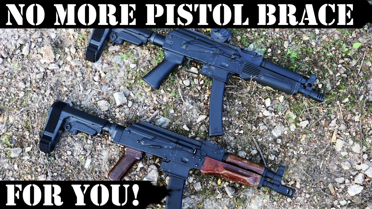 No More Pistol Brace for You! ATF is at it again!