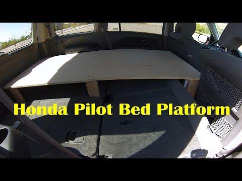 Honda Pilot Micro Camper
