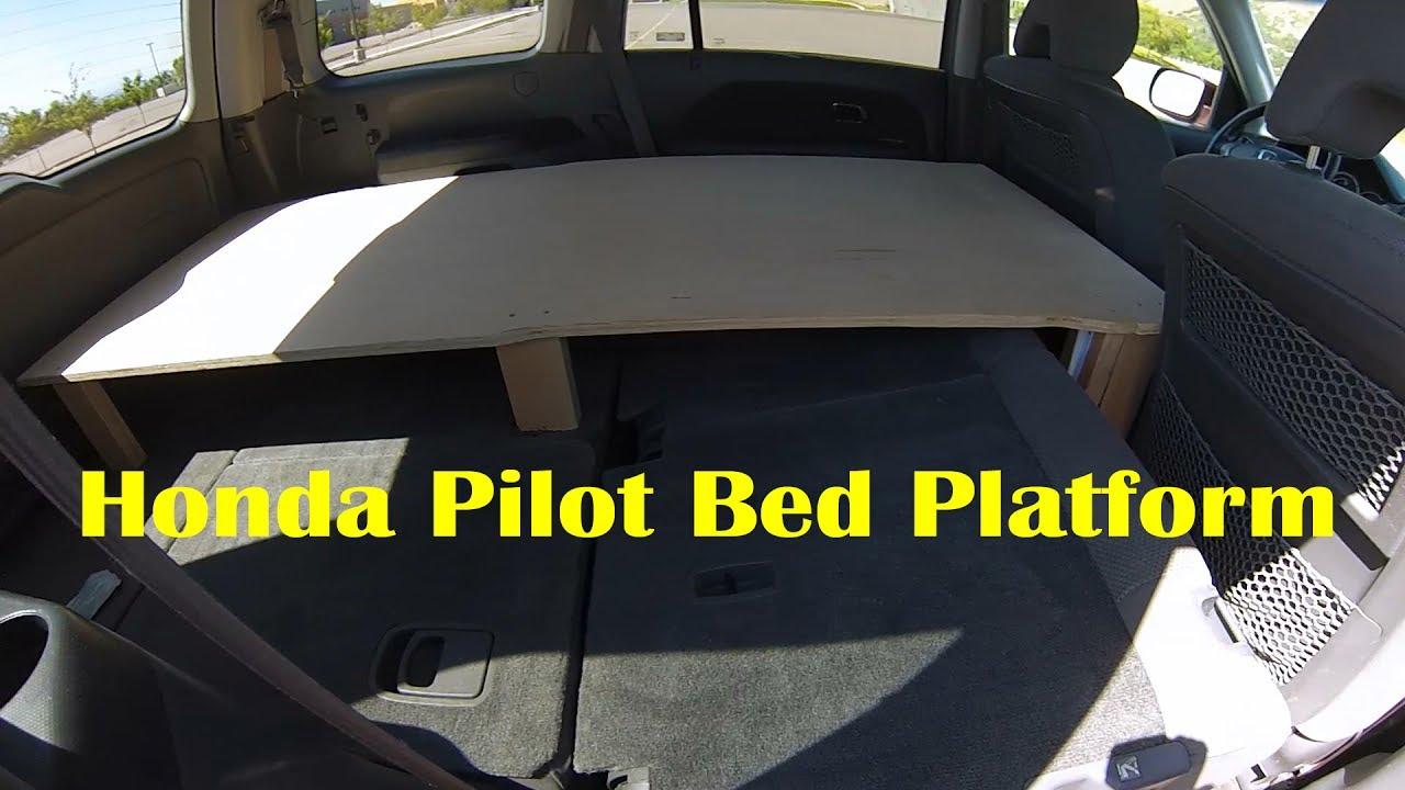 Honda Element Camper >> Honda Pilot Micro Camper - YouTube