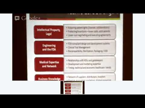 Commercialization of novel medical technologies