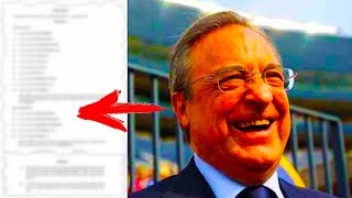 THE REAL REASON WHY THE SUPER LEAGUE was CREATED! IT'S LEAKED! FLORENTINO PEREZ' interview