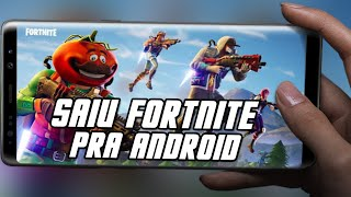 Download Fortnite for Android only for Samsung