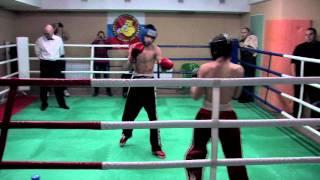 14-летний кикбоксёр - Дмитрий Жаворонков