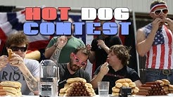 Jack and Joel's Hot Dog Eating Competition | Rooster Teeth