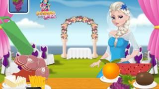 Elsa Bride Cooking Wedding Dish (Холодное сердце: Эльза готовит блюда для свадьбы)