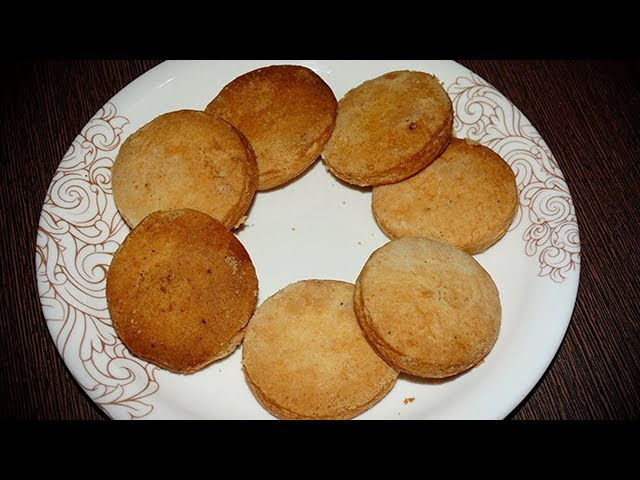 Maida Biscuits (మైదా బిస్కెట్స్) | How to make Maida Biscuits With Eng Subtitles | PDTV Foods