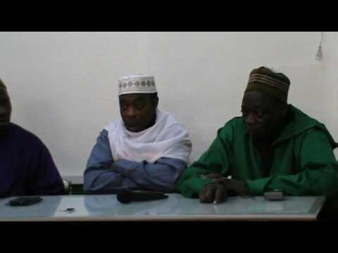 Scheik Latif Mako Togo 20 11 2016  Ä Masjid Ar Rahm Gologne Allemagne 1
