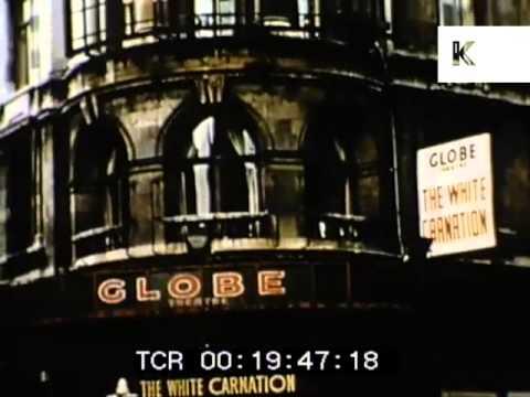 1950s London's Theatreland, UK