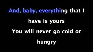 Next To You - Chris Brown Ft. Justin Bieber - KARAOKE SING ALONG with Lyrics