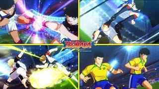All Combo  Twin Super Shots Compilation - Captain Tsubasa Rise of New Champions