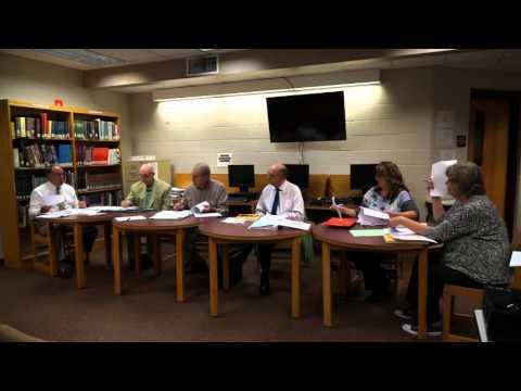Gilmer County Board of Education Regular Meeting - 09.21.15