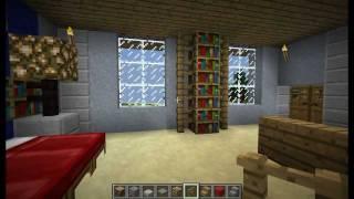 """Minecraft - Tutorial """" Come Arredare Una Casa """" ( Stanza Da Letto ) #3"""