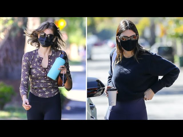 Kendall Jenner And Kaia Gerber Work Out Together In Beverly Hills