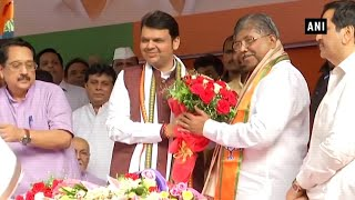 BJP appointed Chandrakant Patil as president of its Maharashtra state unit