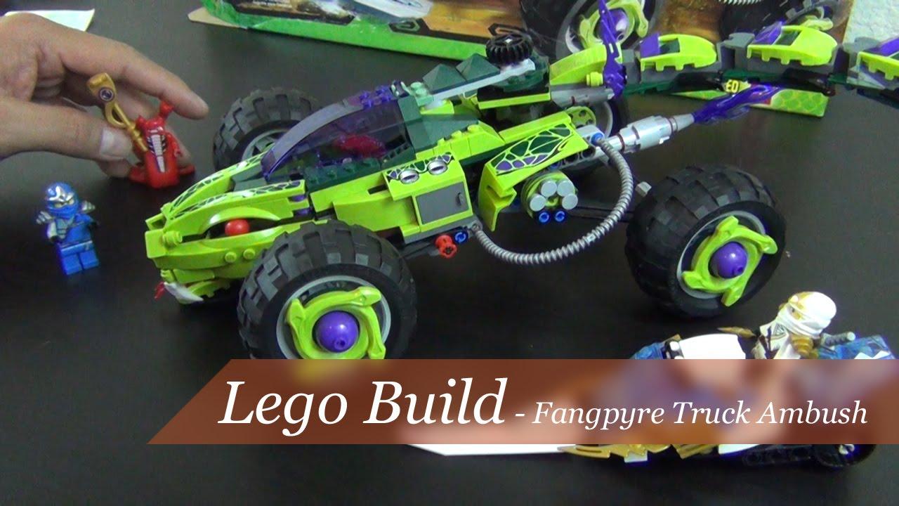 Lego Ninjago Snake Truck