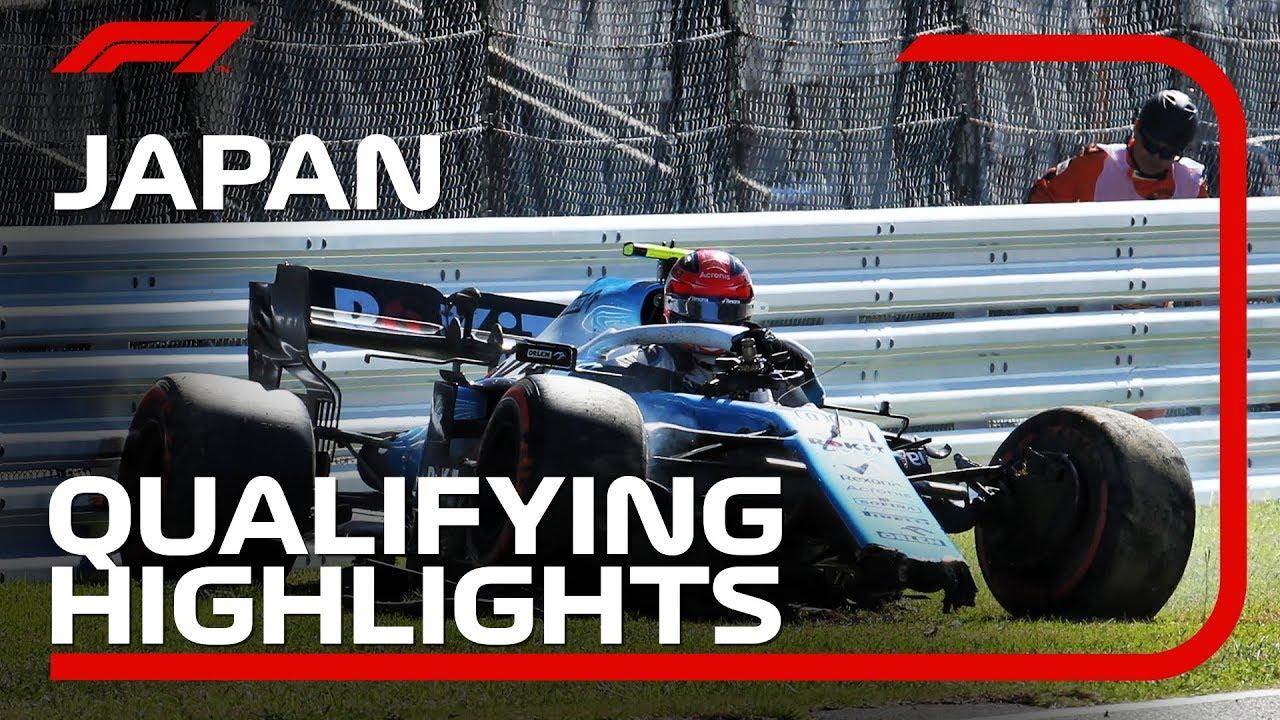 2019 Japanese Grand Prix Qualifying Highlights Youtube