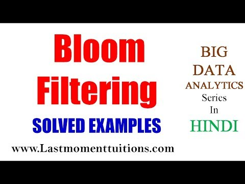 Bloom Filter Basic Concept In Hindi | Big Data Analytics Lectures