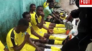 2e Journée barrage dans le Littoral les consignes du coach de As Dibamba FC Par Vincent Kamto.avi