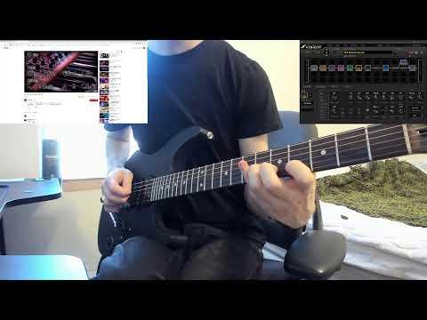 MIZERAMA // METAL GUITAR IMPROVISATION AND PRACTICE - LIVE