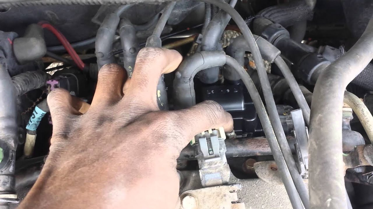 maxresdefault how to change coil pack on a 2005 chevy equinox youtube 2002 Chevy Venture Fuel Filter Location at mifinder.co