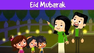 Eid Mubarak | Eid Celebration & Facts For Kids| Cultural Stories For Kids | Jalebi Street |