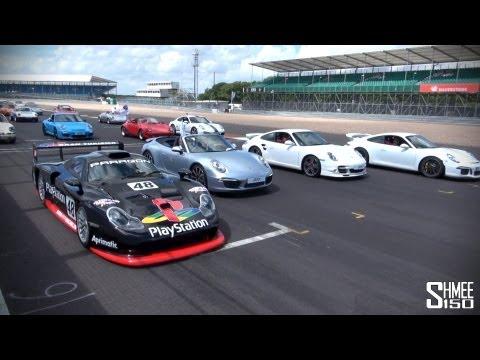 WORLD RECORD: 1,208 Porsche 911s at Silverstone