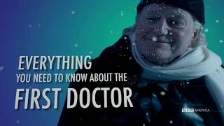 Guide to the First Doctor | Doctor Who Christmas | Christmas Night at 9/8c on BBC America