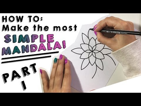 HowTo: Make the most simple mandala! - Part I