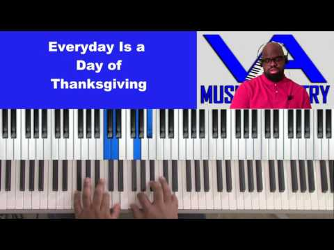 Everyday Is A Day of Thanksgiving DC by Alvin Willis