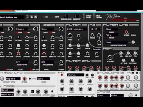Rob Papen Predator Rack Extension - 2nd Review!