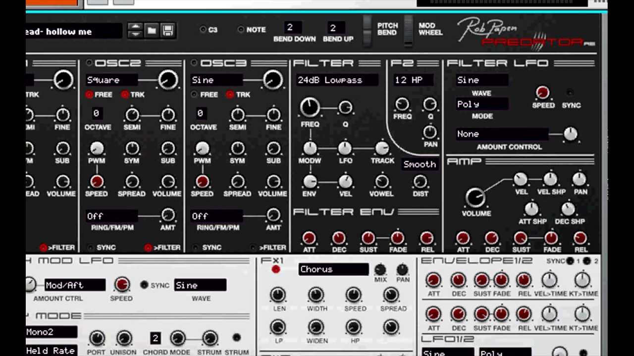 Rob Papen Predator synth plugin price reduced