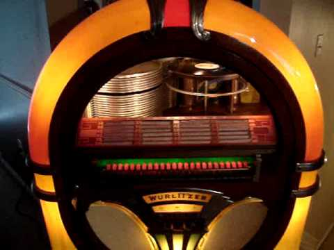 Vintage 1941 Deco Wurlitzer Model 750 Jukebox -