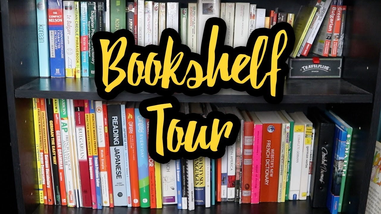 Abigails Language Bookshelf Tour 2018