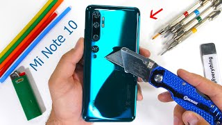 Mi Note 10 Durability Test! - 5 cameras for under $500?