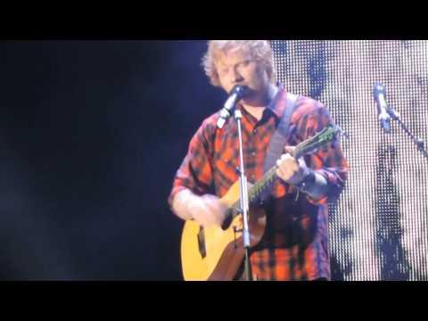 Ed Sheeran opening song- I'm A Mess (Gillette Stadium)