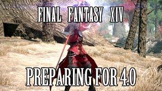 FFXIV Stormblood:  Preparing for 4.0 Expansion