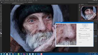 Реалистичная живопись из фото в Арт студии для Фотошоп