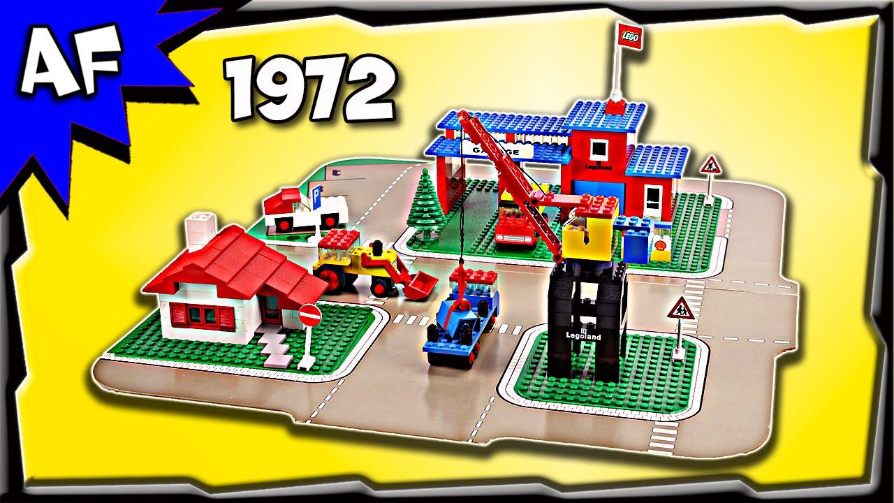 Vintage Lego 1972: Legoland Town Center Set with Roadways ...