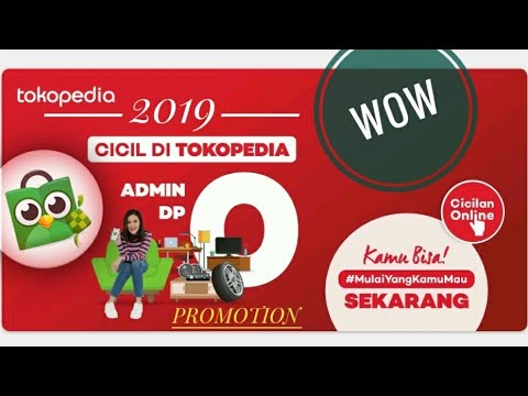 Cara kredit hp di Tokopedia dengan home kredit - YouTube