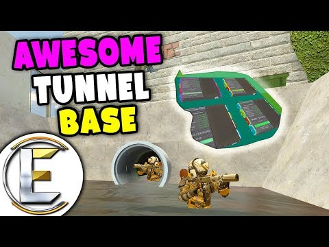 Awesome Tunnel Base With Money Printers - Gmod DarkRP Life (Hidden From The Public)