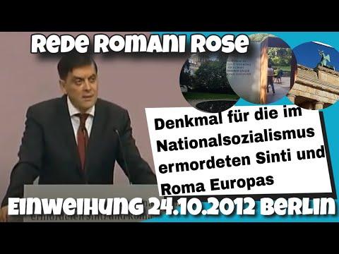 Romani Rose - Einweihung des Denkmals für Sinti und Roma