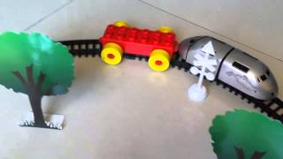 Choo Choo Train For Toddlers Pushing Blocks Train, Train Tracks - #1 by JeannetChannel