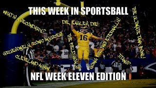 This Week in Sportsball: NFL Week Eleven Edition (2018)