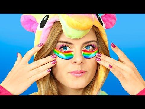 8 DIY Amazing Unicorn Makeup Ideas