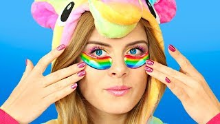 8 DIY Amazing Unicorn Makeup Ideas