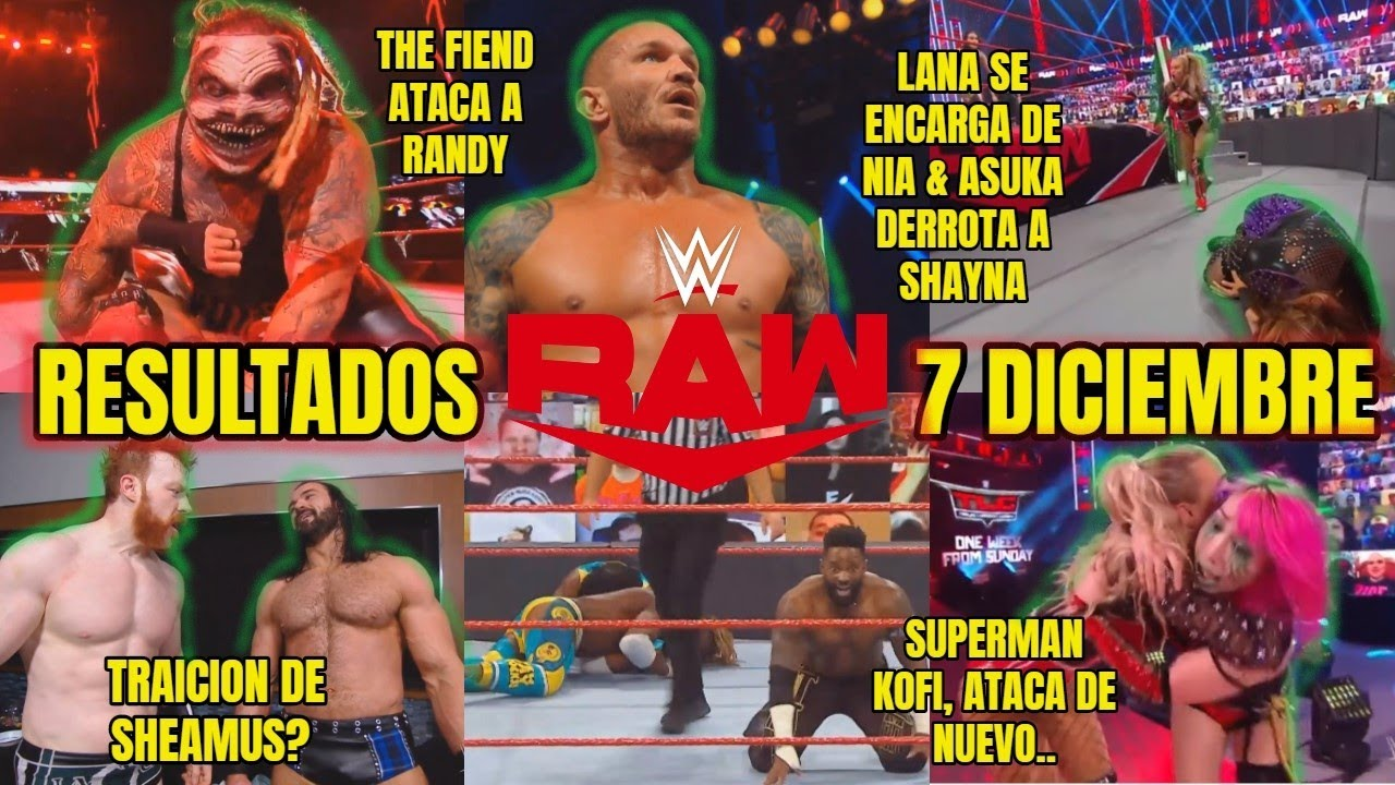 Download RAW 7 DICIEMBRE 2020 RESULTADOS, ANALISIS, REVIEW🔥THE FIEND ATRAPA A RANDY, SHEAMUS TRAICIONA #RAW 🔴