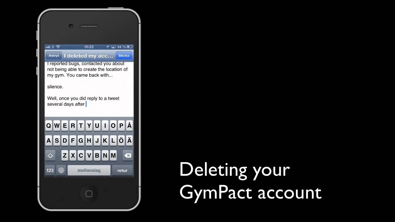 How To Delete A Gympact App Account On Your Phone