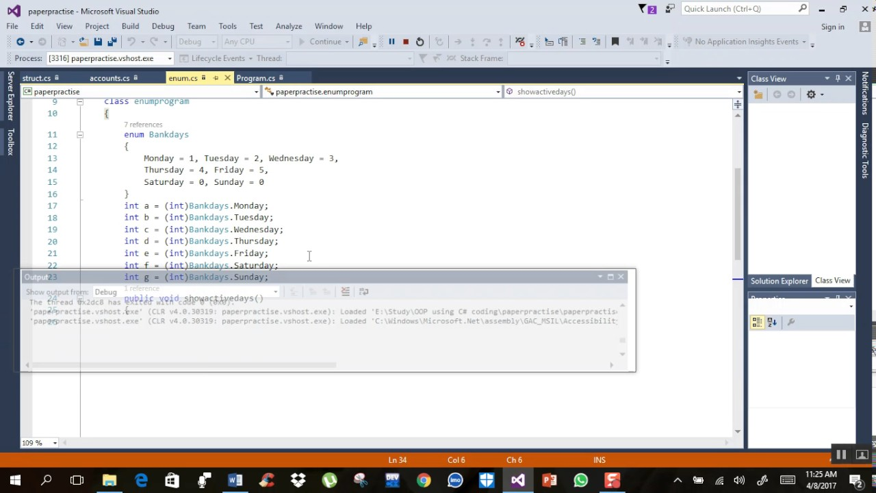 Bank Management System using all Object Oriented Programming techniques in  C#