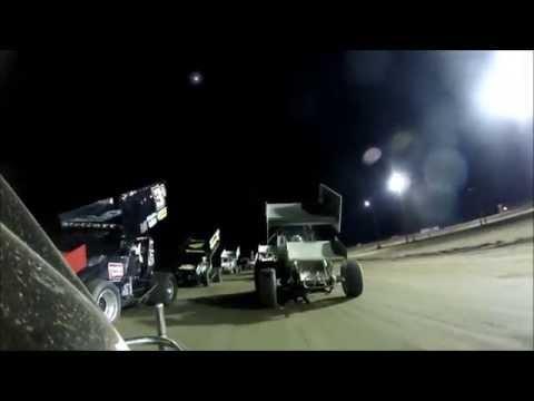 Tyler Blank LA Raceway Feature Race 4-12-14
