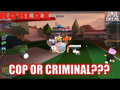 Roblox: JailBreak: Criminal DRESSED AS COP??? | Playing UNDERCOVER